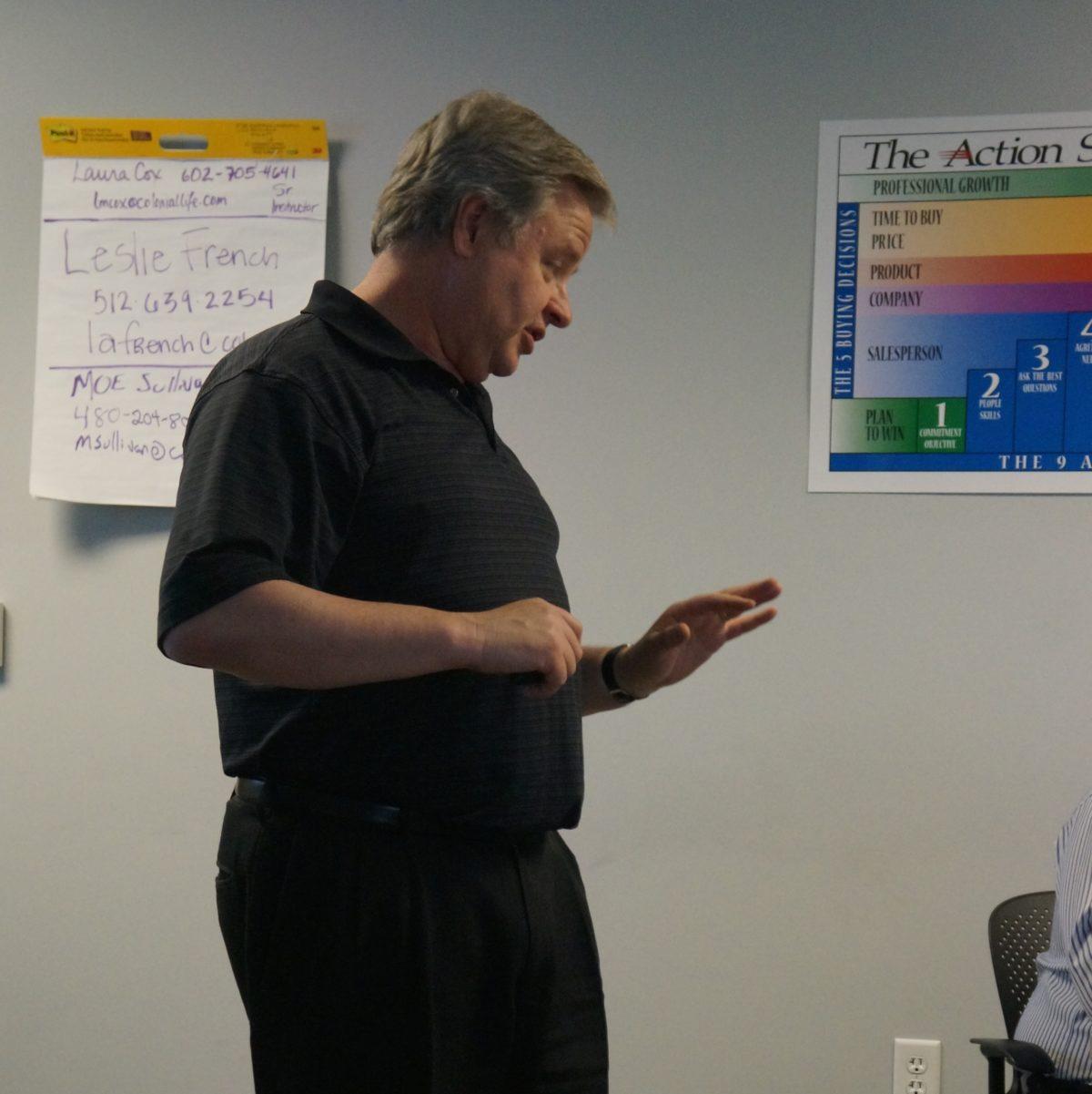 Brian Yager Teaching Strategic Planning