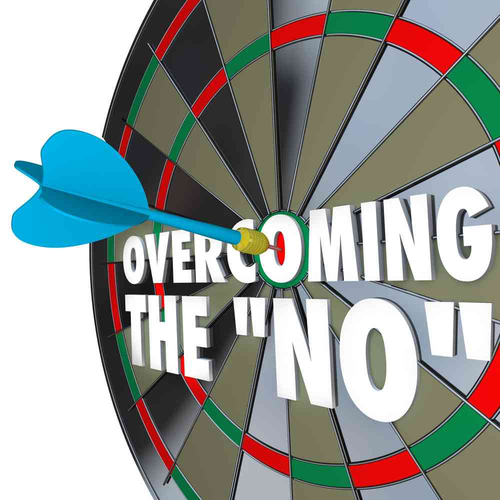 overcoming no