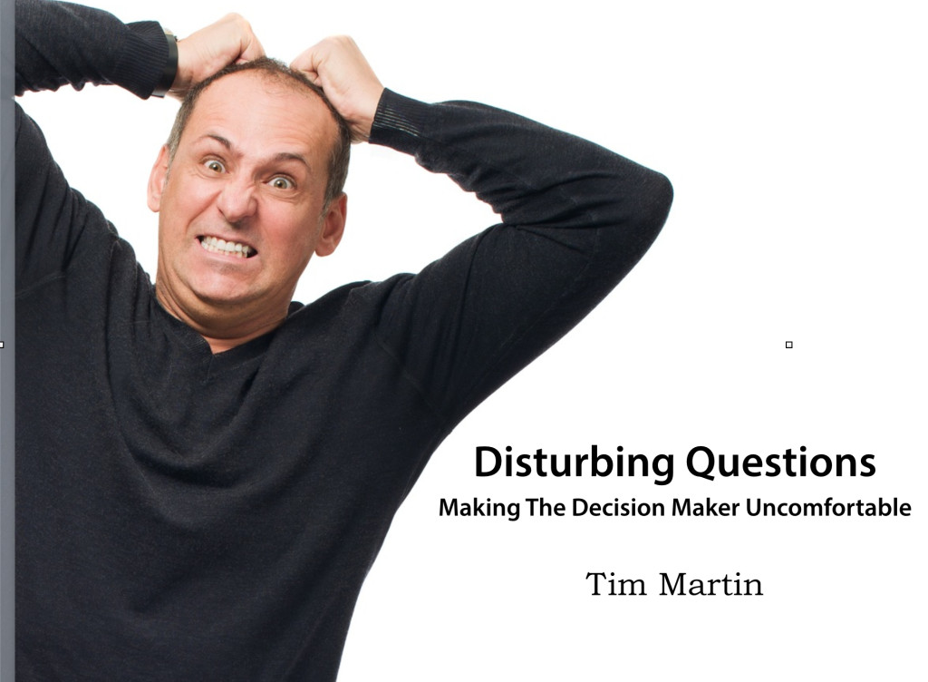 Cover of Disturbing Questions
