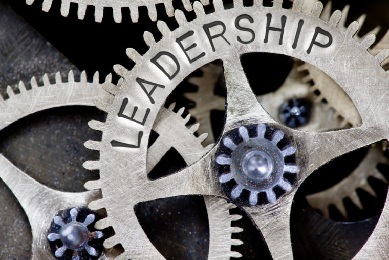 Leadership Success Is By Working Together Like Gears