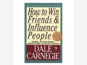Book cover how to win friends