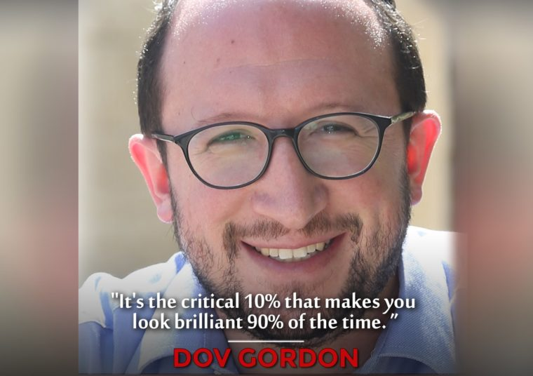 Dov Gordon: Success Is Voluntary Podcast Guest